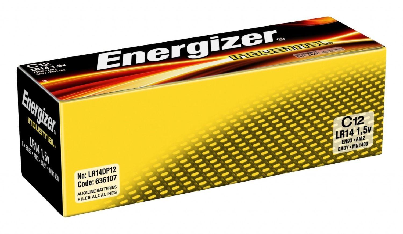 Energizer bateria alkaliczna Industrial C LR14 (12szt)