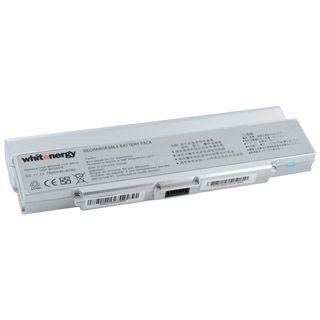 Whitenergy HC bateria do laptopa Sony BPS9 / BPL9 11.1V Li-Ion 7800mAh srebrna