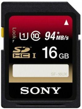 Sony Karta pamięci SD UHS-I 16GB | klasa 10 | R94 W70