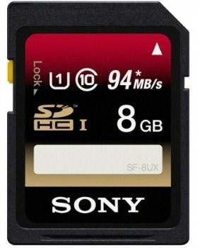Sony Karta pamięci SD UHS-I 8GB | klasa 10| R94 W70