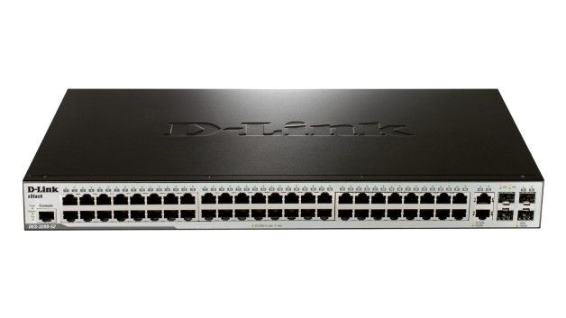 D-Link DES-3200-52 48-port 10/100 PoE Layer 2 Managed Switch + 2x Combo 1000Base-T + 2x SFP