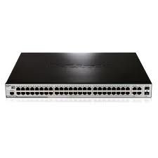 D-Link DES-3200-52P 48-port 10/100 PoE Layer 2 Managed Switch + 2x 1000Base-T + 2x Combo SFP