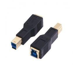 LogiLink adapter USB 3.0-B męski do USB 3.0-B żeński