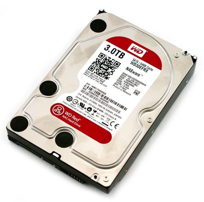 Western Digital Dysk twardy WD Red, 3.5'', 3TB, SATA/600, 64MB cache