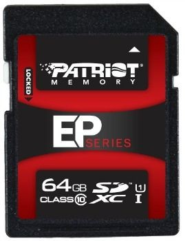 Patriot SecureDigital XC UHS-I U1 64GB (Class 10)