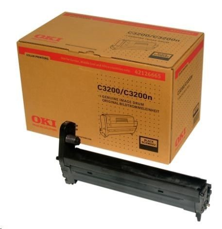 OKI C3200 drum black standard capacity 14.000 pages 1-pack