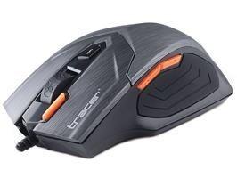 Tracer Mysz przewodowa Pert optyczna USB grafitowa