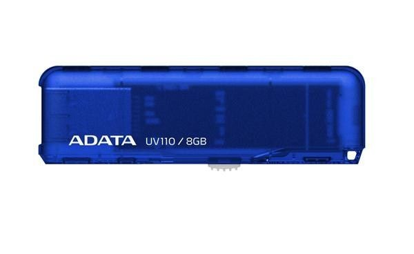 A-Data DashDrive UV110 8GB USB2.0 (niebieski)