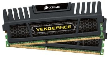 Corsair Vengeance 2x8GB 1600MHz DDR3 CL9 , Radiator