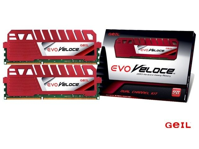 Geil VELOCE DDR3 2x4GB 1600MHz CL9