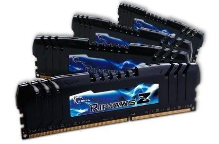 GSkill RipjawsZ DDR3 4x8GB 2400MHz CL10 + Turbulence