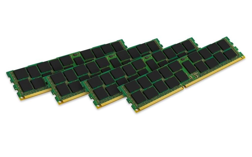 Kingston 4x16GB 1600MHz DDR3 ECC Reg CL11 DIMM DR x4 w/TS