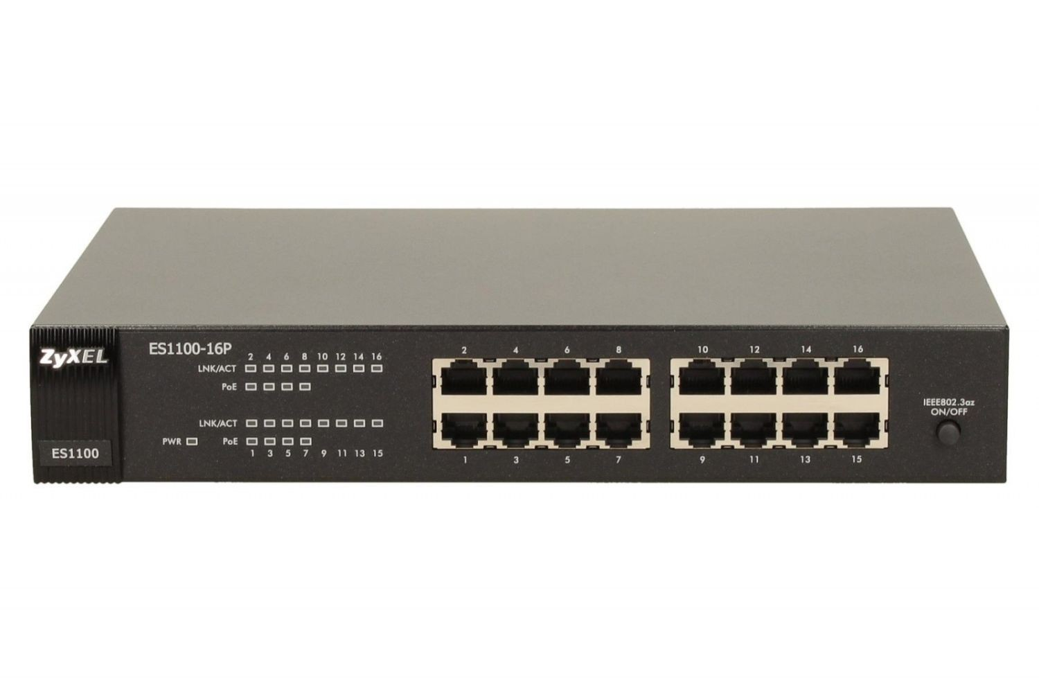 ZyXEL Zyxel ES1100-16P 16-port FastEthernet Unmanaged PoE Switch