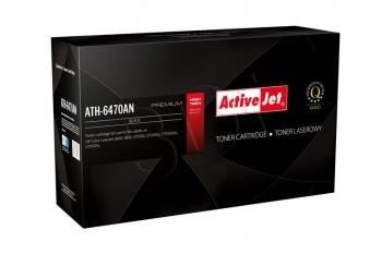 ActiveJet Toner ActiveJet ATH-6470AN | Czarny | 6000 pp | HP Q6470A (501A), Canon CRG-7
