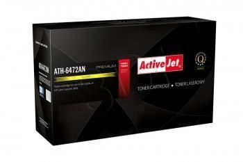 ActiveJet Toner ActiveJet ATH-6472AN | Yellow | 4000 pp | HP Q6472A (502A), Canon CRG-7
