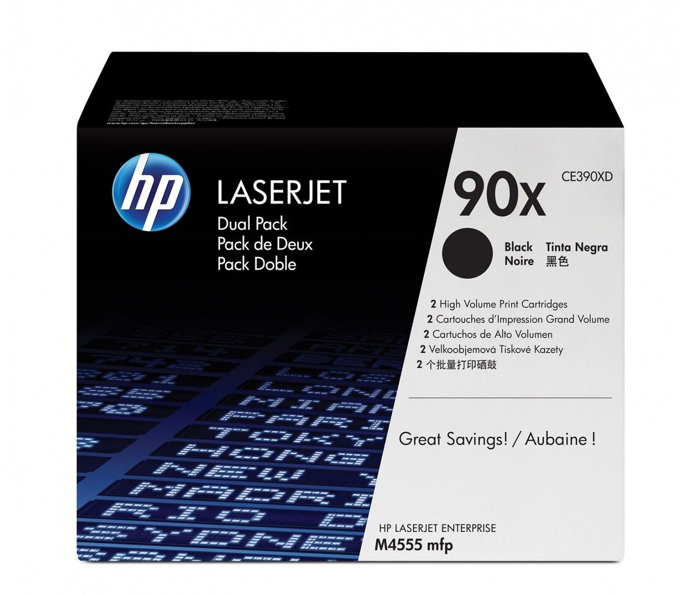 HP Toner HP black dualpack | 24000str
