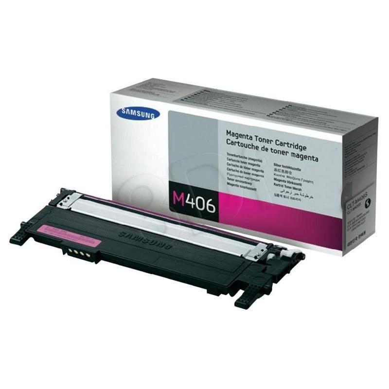 Samsung Toner magenta CLT-M406S | 1 000str | CLP-360/CLP-365 CLX-3300/CLX-3305