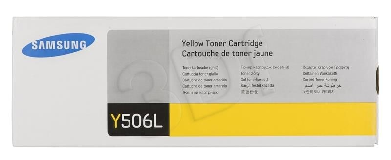 Samsung Toner yellow CLT-Y506L | 3 500str | CLP-680ND/CLX-6260