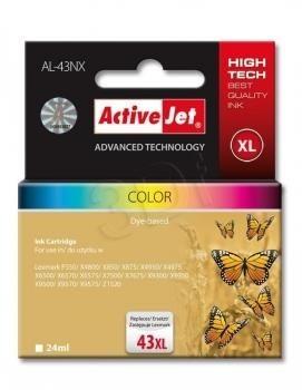 ActiveJet Tusz ActiveJet AL-43NX | color | 24 ml | Lexmark 18YX143E
