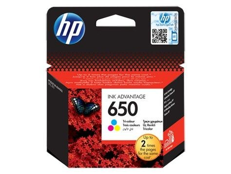 HP tusz 650 color