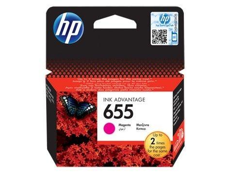 HP tusz 655 magenta