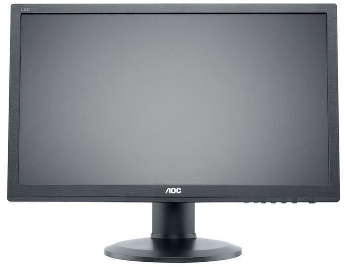 AOC Monitor AOC E2460PHU 24inch, D-Sub/HDMI/DVI/USB, reg. Wysokości, głośniki