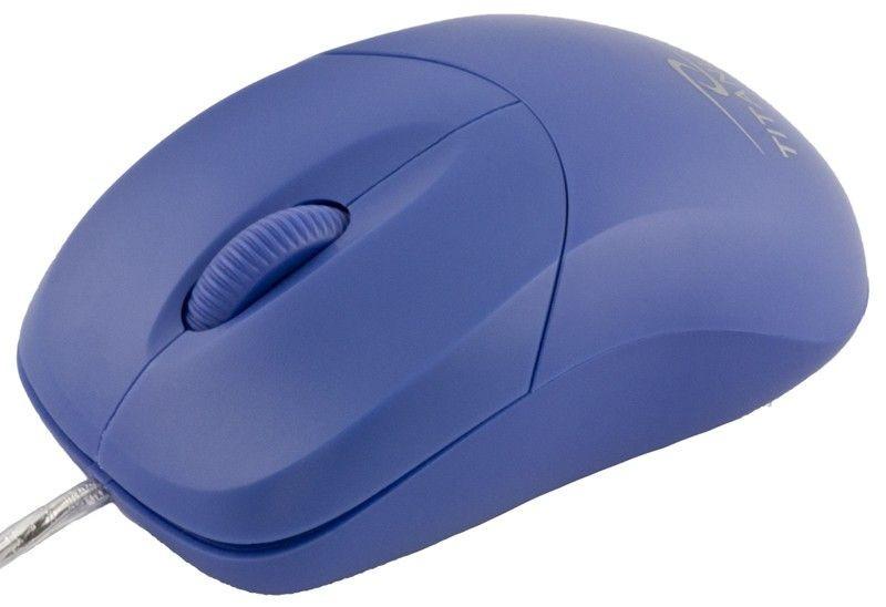 Titanum przewodowa mysz optyczna TM109B USB AROWANA 3D (1000dpi, niebieska)