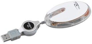 Titanum przewodowa mysz optyczna TM112W USB ELVER 3D (1000dpi, biała)