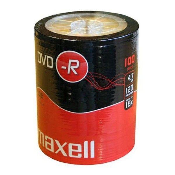 Maxell DVD-R 4,7GB 16x (szpindel, 100szt)