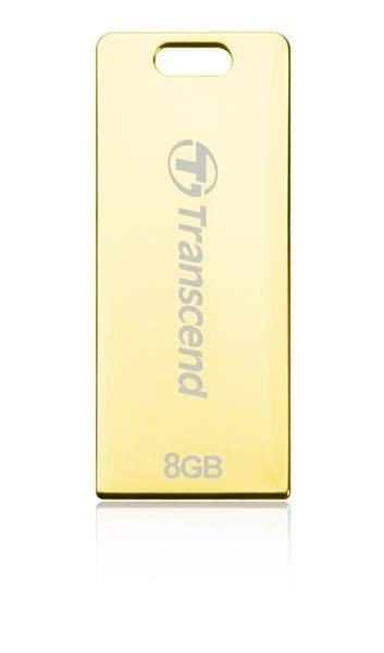 Transcend Jetflash T3G 8GB USB2.0 Golden Metal
