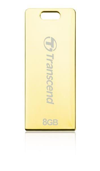 Transcend Jetflash T3G 8GB USB2.0 Golden Metal