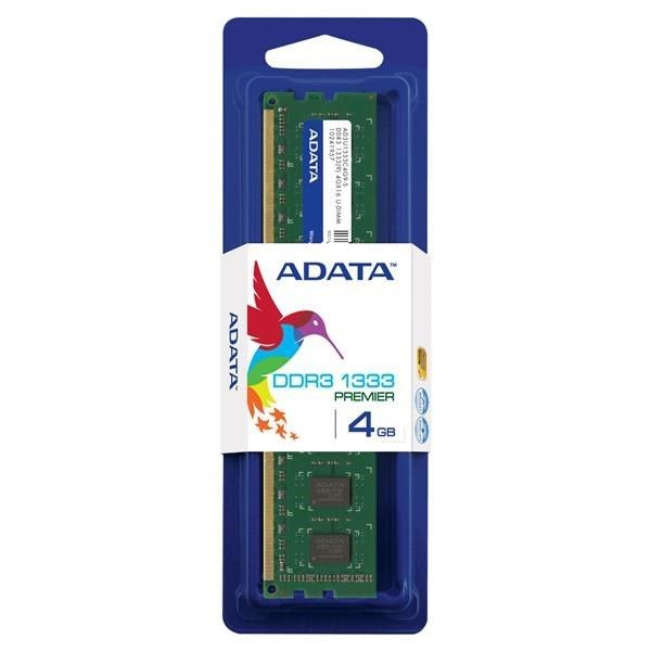 A-Data DDR3 4GB 1333MHz Single Tray (8x512)