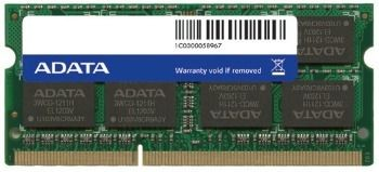 A-Data 8GB 1600MHz DDR3 CL11 SODIMM 1.5V Retail