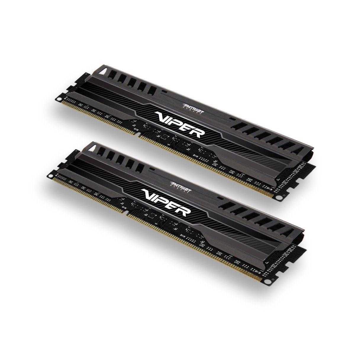 Patriot ViperX 3RD 2x8GB DDR3 1600MHz CL9 1.5V, XMP 1.3 Dual Channel