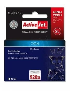 ActiveJet Tusz ActiveJet AH-920CCX | Cyan | 12 ml | HP 920XL CD972AE