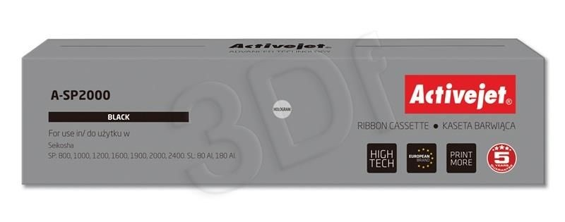 ActiveJet A-SP2000 taśma Czarny do drukarki Seikosha (zamiennik Seikosha SEISP16051) Supreme