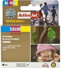 ActiveJet Tusz ActiveJet AL-15N | Color | 24 ml | Lexmark 18C2110