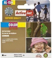ActiveJet Tusz ActiveJet AL-15N | Color | 24 ml | Lexmark 18C2110