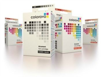 Colorovo zestaw atramentów 10-BK+11-C+M+Y (HP 10 (C4844A) + HP11 (C4836A+C4837A+C4838A))