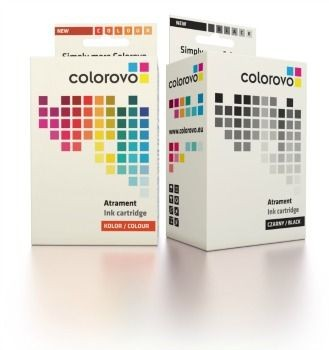 Colorovo zestaw atramentów 300-BK+CL (HP 300 CC640EE + CC643EE)