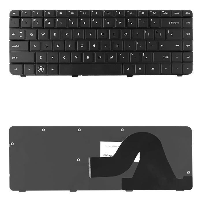 Qoltec Klawiatura do laptopa HP CQ42 CZARNA