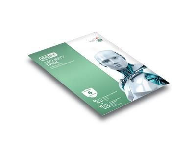 Eset Security Pack (3 PC, 1 rok, kontynuacja)