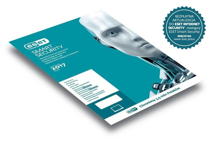 Eset PROGRAM SMART SECURITY 1U 2Y UPG. LIC.