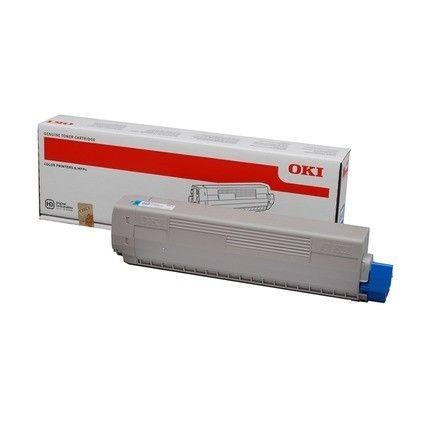 OKI toner cyan (7300str, C822)