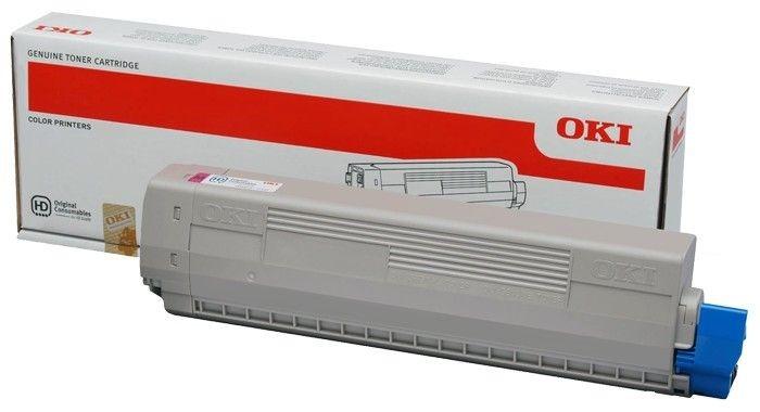 OKI toner magenta (7300str, C822)