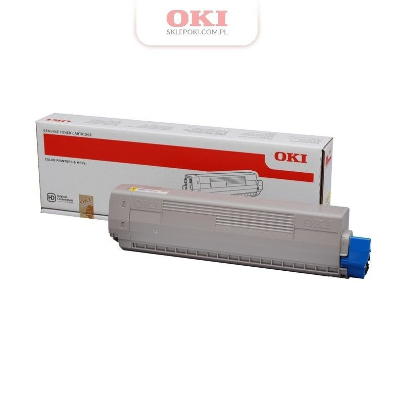OKI Toner yellow | 10 000str| C831/841
