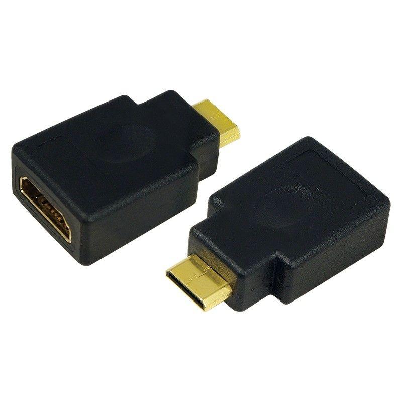 LogiLink adapter HDMI typ A żeński - Mini HDMI typ C męski