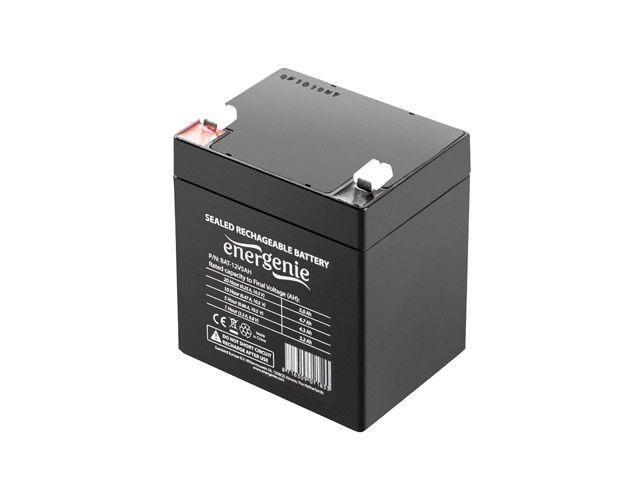 Gembird Energenie żelowy uniwersalny akumulator wymienny 12V/5AH