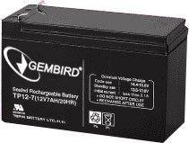 Gembird Energenie żelowy uniwersalny akumulator wymienny 12V/7.5AH
