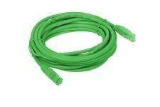 A-LAN Patchcord UTP kat 5e 0.5m zielony